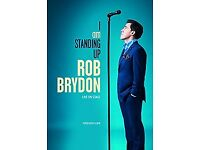 FOR SALE - Two Rob Brydon tickets for Thursday 12th October 8pm Hull City Hall. Row D £27.50 each.