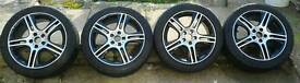 16 inch Alloy Wheels with Tyres