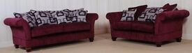 Designer Fabric Purple Constable Buoyant sofa £799