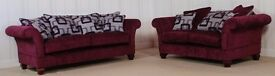 Buoyant Purple constable 3 seater + 2 seater sofa £799