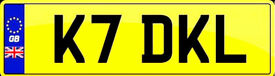 K7DKL Private Cherished Plate On Retention
