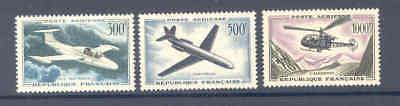 FRANCE 1957 AIRMAIL SET VERY FINE MINT