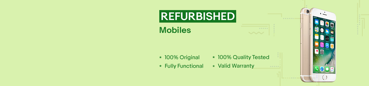 offer on refurbished products
