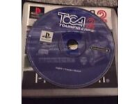 Play station 1 game Toca 2 with booklet