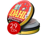 Roald Dahl Audio Collection in Tin (AUDIO) - 10 Classic ROALD DAHL Audio Book Stories on 29 CDs