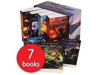 The complete Harry Potter Collection - 7 Book Box Set | PLUS New Play (PDF)