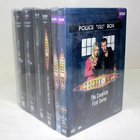 DOCTOR WHO SEASONS 1-7 COMPLETE SERIES (BRAND NEW)