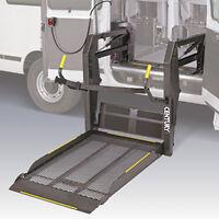 Wheelchair van lift and accessories