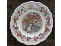 Royal Dolton Bramley Hedge plates