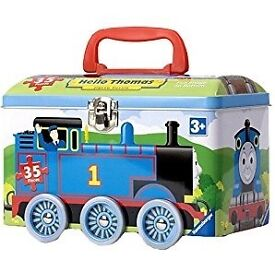 Ravensburger Thomas the tank engine & Friends Jigsaw Puzzle in a Tin (35 Pieces)
