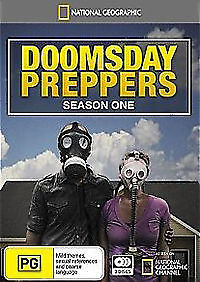 National Geographic Doomsday Preppers : Season 1 (DVD, 2013, 3-Disc Set) NEW