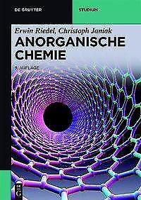 Anorganische Chemie - Erwin Riedel / Christoph Janiak - 9783110355260 PORTOFREI