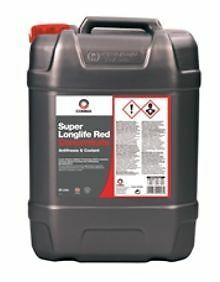 slal comma super long life anti freeze red  litre  year wss mb  ebay