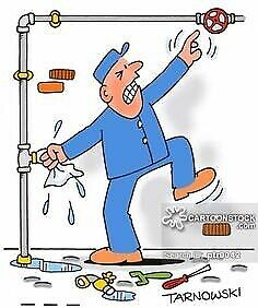 Plumber for small jobs...