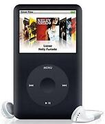 Apple iPod Classic 6th Generation Black
