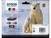 Epson Printer Ink - Polar Bear Multipack 26
