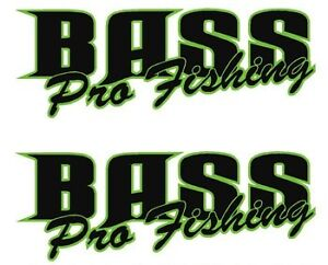 bass pro fishing fishing boat names decal sticker. Black Bedroom Furniture Sets. Home Design Ideas