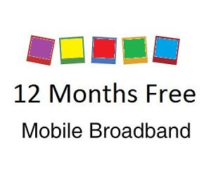 *** 12 Months Free Mobile Broadband Internet 3G Sim Card ***
