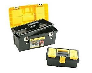 """Stanley 19"""" and 12.5"""" tool boxes, brand new never used.  $20"""