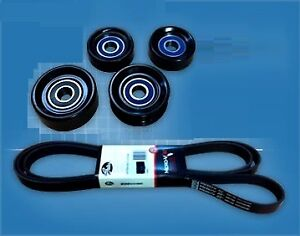 GATES BELT & NULINE UPGRADE PULLEY KIT FORD FALCON AU XR6 4.0L 6CYL 98-02 VCT