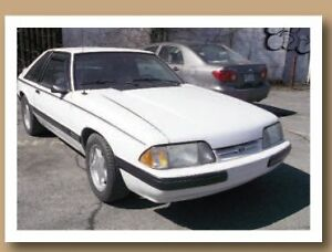 1990 Ford Mustang OUI Coupé (2 portes)