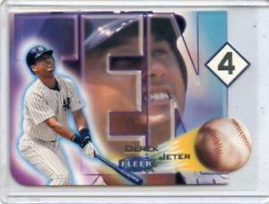 2000-FLEER-TRADITION-7-DEREK-JETER-TEN-4-INSERT-NEW-YORK-YANKEES