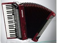 Hohner Piano Accordion Bravo III 120 Red