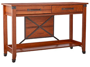 Sauder Carson Forge Sofa Table - NEW and Assembled