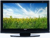 SANYO 32INCH LCD TV WITH INTEGRATED FREEVIEW WITH TWO HDMI PORTS