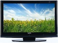 SANYO 32 INCH LCD HD TV WITH BUILT IN FREEVIEW**DELIVERY IS POSSIBLE**