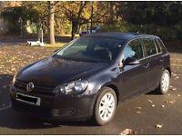 VW GOLF 2010,5dr 1.6L Diesel, Bluemotion: in-built Sat Nav, Bluetooth, Parking Sensors &Heated Seats