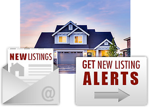 EMAIL ALERTS for new MLS listings