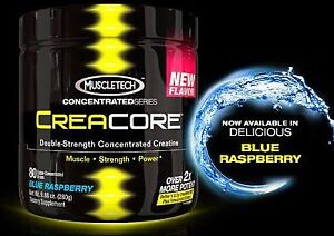 BRAND NEW MuscleTech Creacore Concentrated Creatine HCL Powder