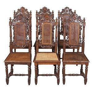 Beau Antique Dining Chairs