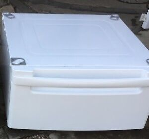 White Laundry Pedestal - just over 4 Years Old!