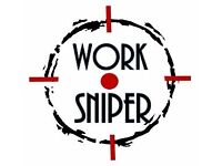Work Sniper finds you high paid, low hours, work from home jobs!