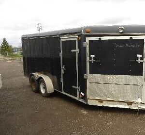 2004 south west 16 ft enclosed trailer
