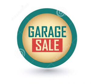 GARAGE SALE - SUNDAY
