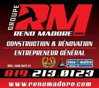 Rénovation RÉNOMADORE 819-213-0123