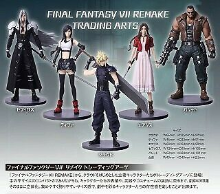 FINAL FANTASY VII REMAKE Trading Arts BOX product 5 set