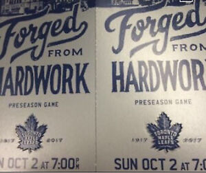 Toronto Maple Leafs vs Montreal Canadiens Tickets, October 2