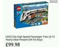 Lego city train set. In box