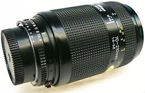 Nikon Nikkor AF 80-210mm f4-5.6 D (Japan made) Parramatta Parramatta Area Preview