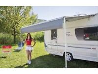 Fiamma Caravanstore Awning Canopy 3.1m in Deluxe Grey – Mint Condition. Fits Caravan or Motorhome
