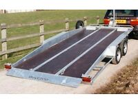 Bateson recovery transporter trailer Tilt bed