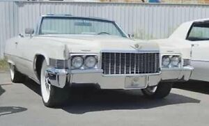 superbe Cadillac coupe deville 1970 convertible