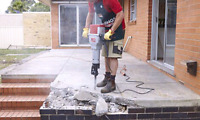 Concrete breaking and removal