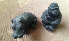 Coal ornaments