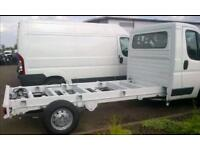 Lwb chassis cab luton box van wanted
