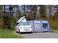 VW Transporter T5 TDI Campervan, 4 berth with side elevating pop up roof